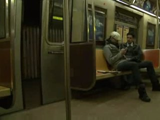 Hawt SUBWAY RIDE