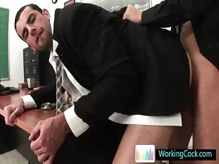 Jake doing a deeptroath and does some wazoo fucking by Workingcock