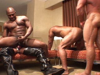 Wicked men - darksome & white gangbang