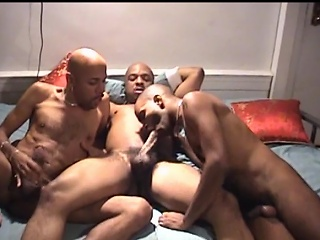 U wouldn't make no doubt of what these three hawt swarthy chaps are into. They...