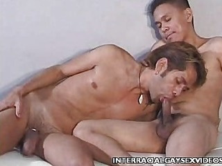 Zach Gay Interracial Anal Plowing