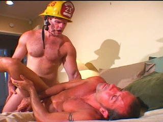 Lustful Fireman Fucks the Sufferer