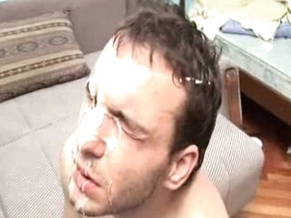 Extreme wanking cum facial Sex cream