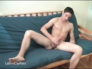 Hard body on solo masturbating chick