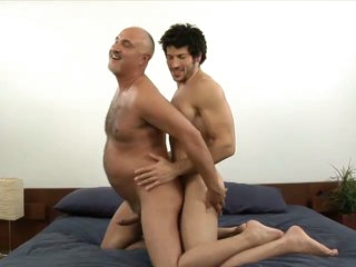 Muscled homosexual stud leo giamani fucking jake cruise bareback in old ass