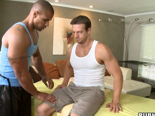 His rock hard hands are so gentle with that biggest white dick! Awesome!
