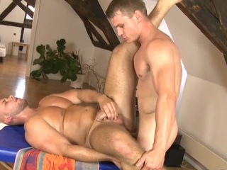 Thrilling knob sucking and wild cook jerking for hawt homosexual hunk