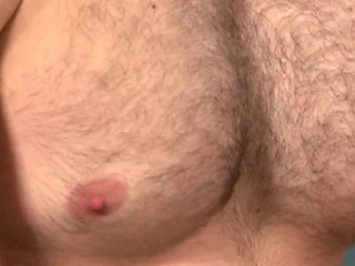 Bottom muscle masturbates his thick jock and can not receive enough