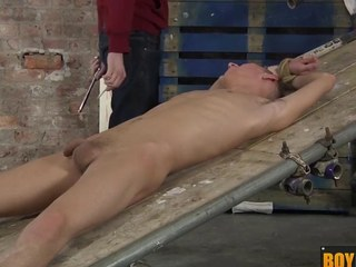 Ashton uses his fresh sex toy device on a big uncut hard dick